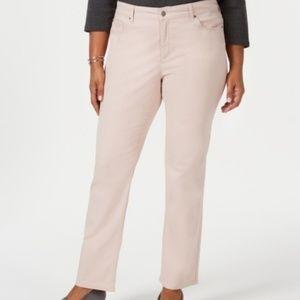 Charter Club Lexington Straight Leg Pants Size 16